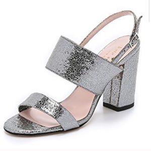 Kate Spade Irvine Metallic Sandal Heel